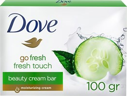 Dove Cream Bar Fresh Touch [100g] x 4